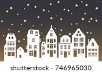 laser cutting amsterdam style... | Shutterstock .eps vector #746965030