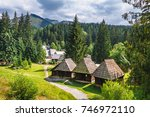 Old Slovak Village - Zuberec is a village in northern Slovakia and a popular tourist center at the foothills of the Western Tatras.