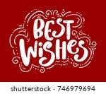 best wishes. handdrawn...