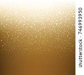 golden xmas banner  | Shutterstock . vector #746993950