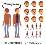 character is a young man. the... | Shutterstock .eps vector #747007270