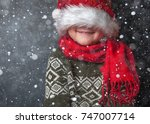 happy xmas and new year.... | Shutterstock . vector #747007714