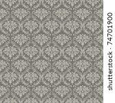 seamless wallpaper pattern ... | Shutterstock . vector #74701900