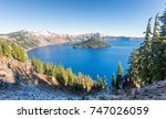 Sunrise At Crater Lake Nationa...