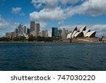sydney skyline with the opera...   Shutterstock . vector #747030220