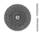 vector seven primary crown...   Shutterstock .eps vector #747052396