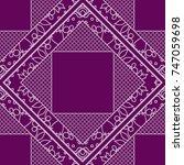 geometric pattern ofvintage... | Shutterstock .eps vector #747059698
