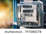 Watthour Meter Of Electricity...