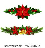 christmas elements for your... | Shutterstock .eps vector #747088636