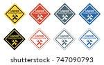 under construction vector sign | Shutterstock .eps vector #747090793