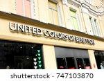 kiev  ukraine   september 10 ... | Shutterstock . vector #747103870