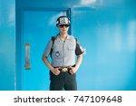 jsa within dmz  korea  ...   Shutterstock . vector #747109648