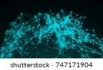 connection structure   3d... | Shutterstock . vector #747171904