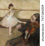 The Dance Lesson  By Edgar...