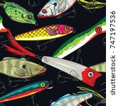 Pop And Colorful Fishing Lures...