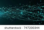 abstract star dust particle... | Shutterstock . vector #747200344