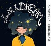inspiration motivation... | Shutterstock .eps vector #747215140