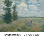 Poppy Fields Near Argenteuil ...