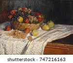 Apples And Grapes  By Claude...