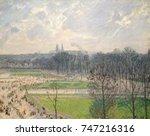 Garden Of The Tuileries  Winter ...