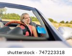road trip  technology and... | Shutterstock . vector #747223318
