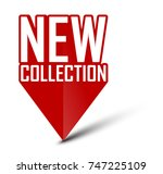 banner new collection | Shutterstock .eps vector #747225109