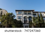 luxury real estate in sunny and ...   Shutterstock . vector #747247360
