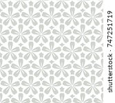 white and gray seamless pattern ... | Shutterstock .eps vector #747251719
