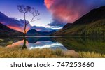 Sunrise At Buttermere In The...