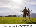 Bavarian Couple In Traditional...