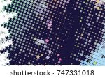 abstract background with stars. ... | Shutterstock .eps vector #747331018