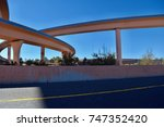 freeway overpass | Shutterstock . vector #747352420