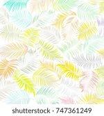 Mix Set Green Leaf Of Coconut...