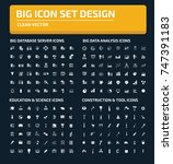 big icon set vector | Shutterstock .eps vector #747391183