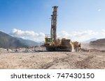 Small photo of Drill blast rig