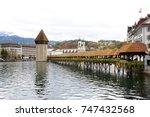 lucerne  switzerland  october... | Shutterstock . vector #747432568