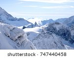 alps  view from mt. titlis in... | Shutterstock . vector #747440458