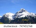 scenic view of switzerland. | Shutterstock . vector #747451768