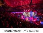 saint petersburg  russia  ... | Shutterstock . vector #747463843