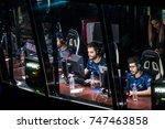 saint petersburg  russia  ... | Shutterstock . vector #747463858