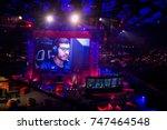 saint petersburg  russia  ...   Shutterstock . vector #747464548