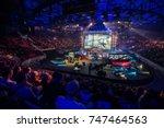 saint petersburg  russia  ...   Shutterstock . vector #747464563