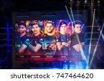 saint petersburg  russia  ...   Shutterstock . vector #747464620