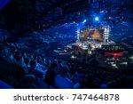 saint petersburg  russia  ...   Shutterstock . vector #747464878