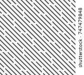 vector seamless pattern.... | Shutterstock .eps vector #747479848