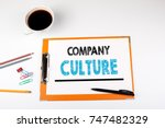 company culture  business... | Shutterstock . vector #747482329