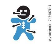 monster icon | Shutterstock .eps vector #747487543