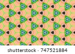 abstract art classic luxury and ... | Shutterstock . vector #747521884