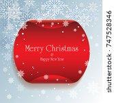 christmas cards   illustration  | Shutterstock .eps vector #747528346