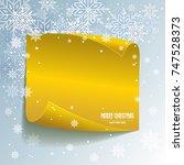 christmas cards   illustration  | Shutterstock .eps vector #747528373